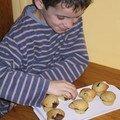 Muffins épouschtroumpfants du schtroumpf gourmand