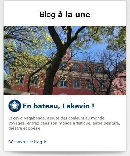 blog en bateau lakevio