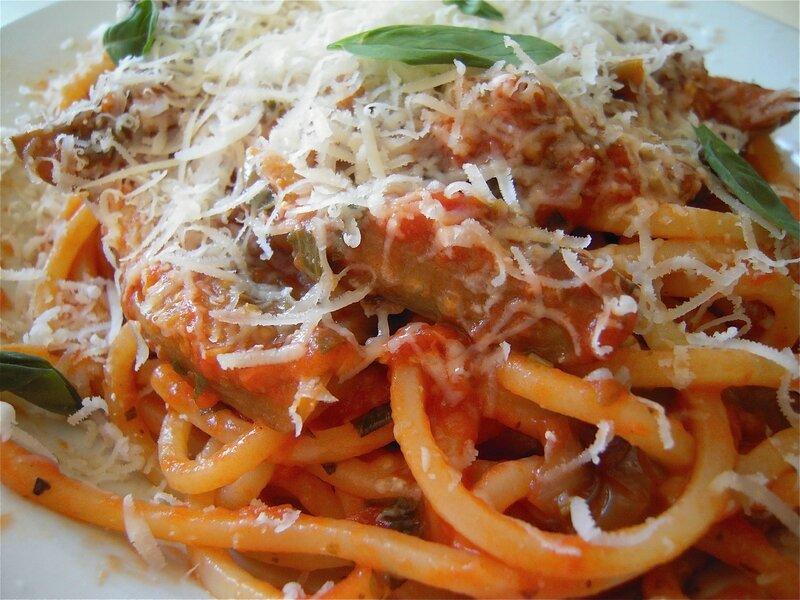 spaghetti à la norma