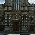 La façade ouvragée de Notre-Dame du Havre.