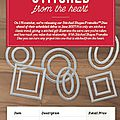 Pre-order & save: new stiched shapes framelits