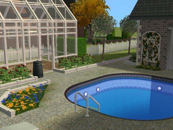 La villa familiale maisons deco sims2 for Sims 4 piscine a debordement