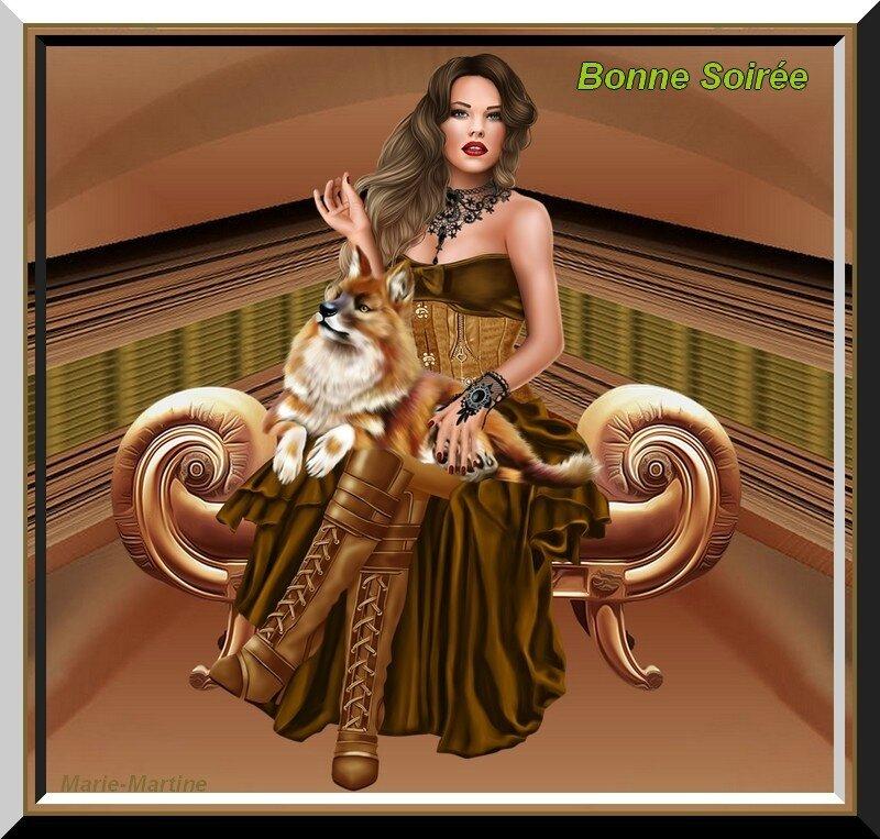 femme et renard