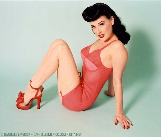 Dita von Teese Altergirl pin-up