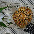 Tarte soleil au thon de p. conticini