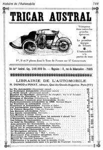 Austral_tricar_Histoire_de_l_automobile_1907