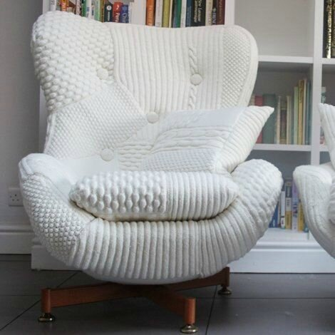 chaise tricot
