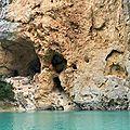 Gorges du Verdon, falaises et rivière