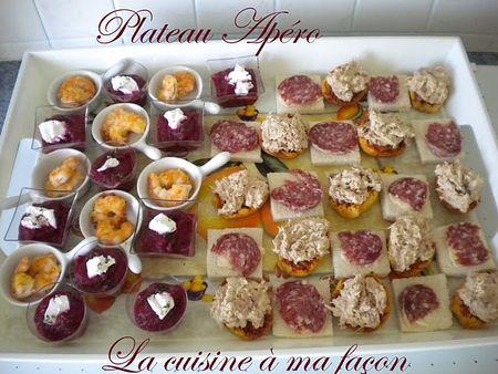 Plateau ap ro la cuisine ma fa on - Idee apero noel original ...