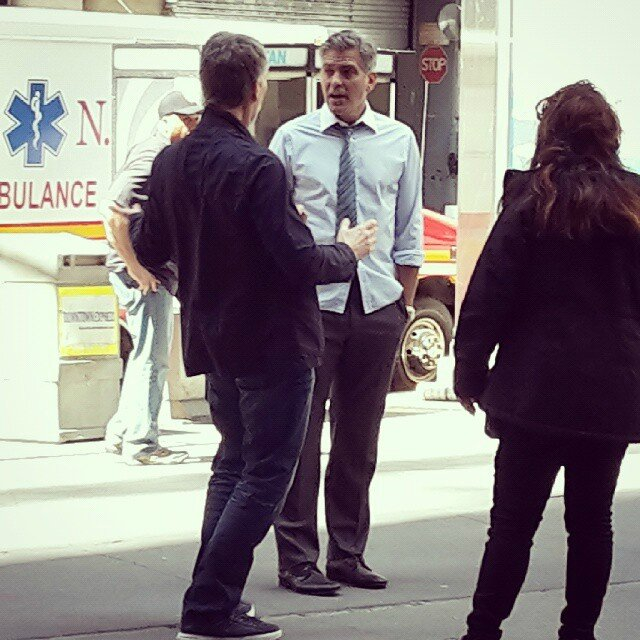 George Clooney on location: Money Monster NYC April 18, 2015 103580024