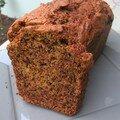 Cake aux fruits d'automne (potimarron et noix)