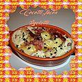 Cocotte façon raclette