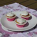 Dessert : cupcake à la noix de coco