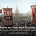 La question agraire dans la révolution russe: un aller-retour de la communauté matérielle au productivisme.
