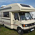 MERCEDES 310D FFB Tabbert Europa 560 camping-car 1993 Lipsheim (1)