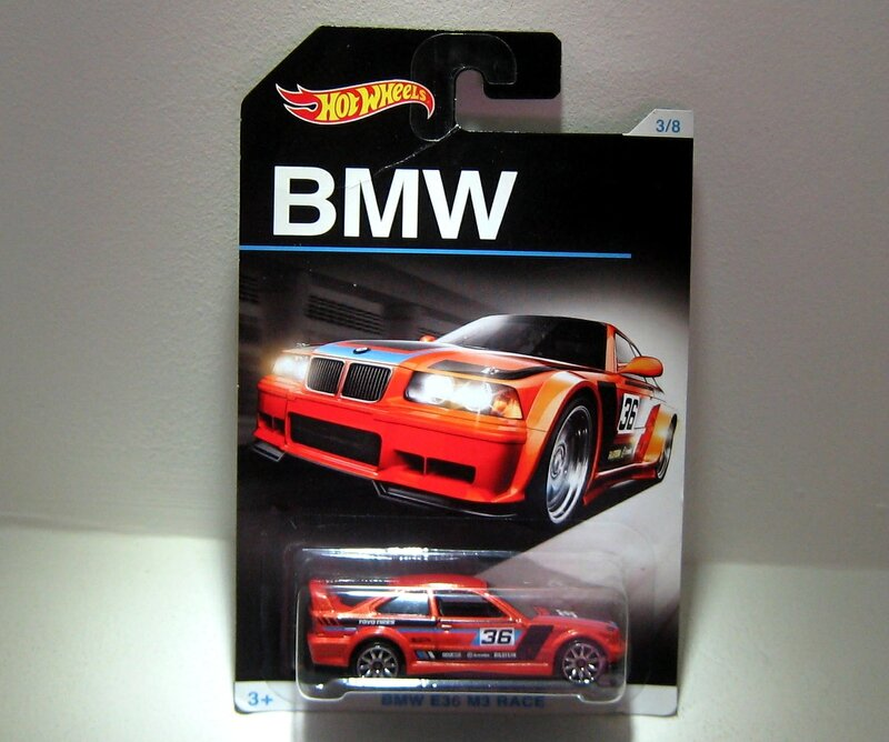 Bmw E36 M3 race (Hotwheels 2016)