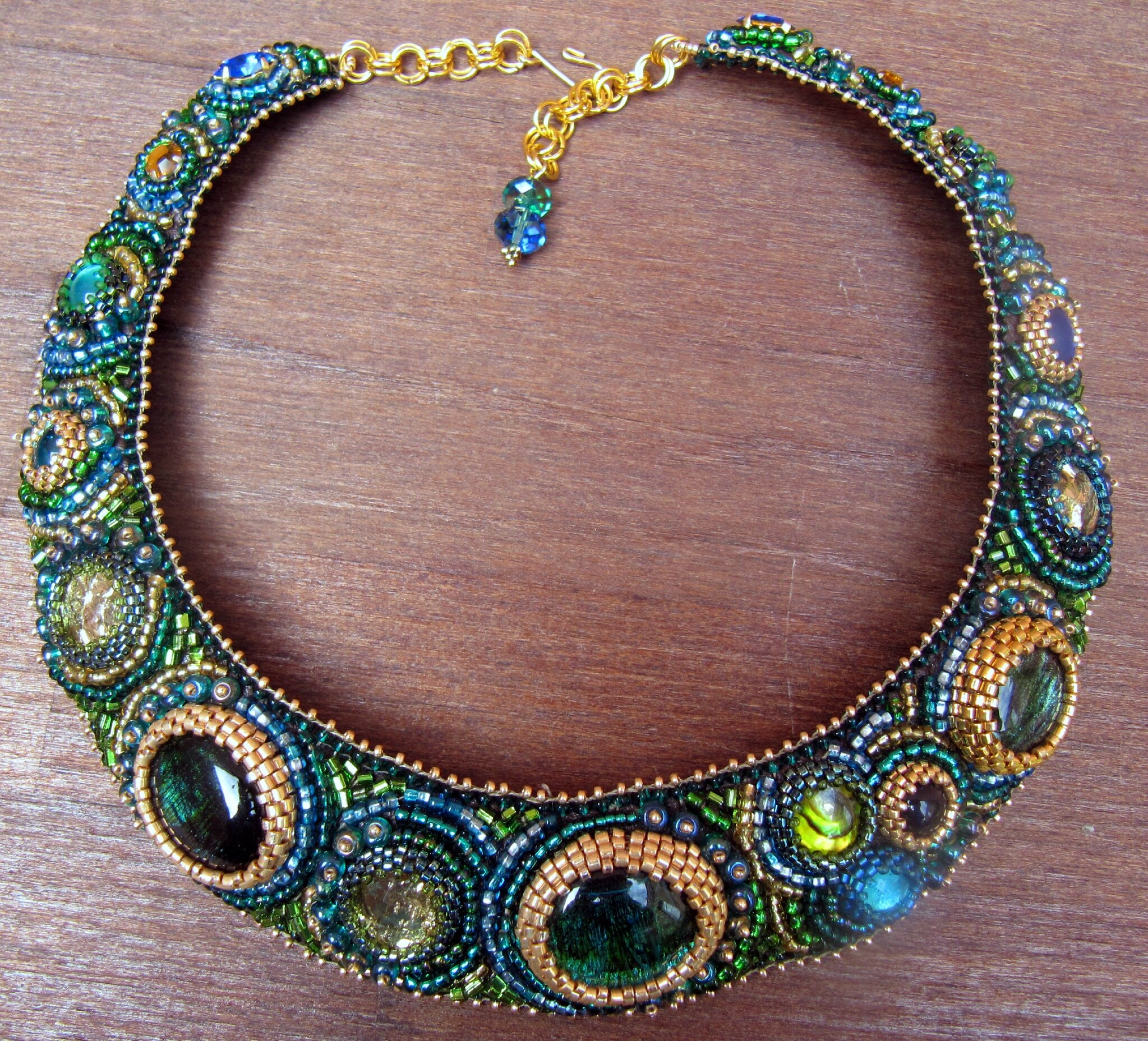 COLLIER BRODE COLLECTION NUIT IRISEE