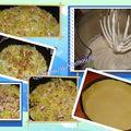 Tarte au fromage blanc, poireaux et anchois