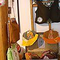 Les chapeaux et gilets de Emma Simonin (MissMonin)
