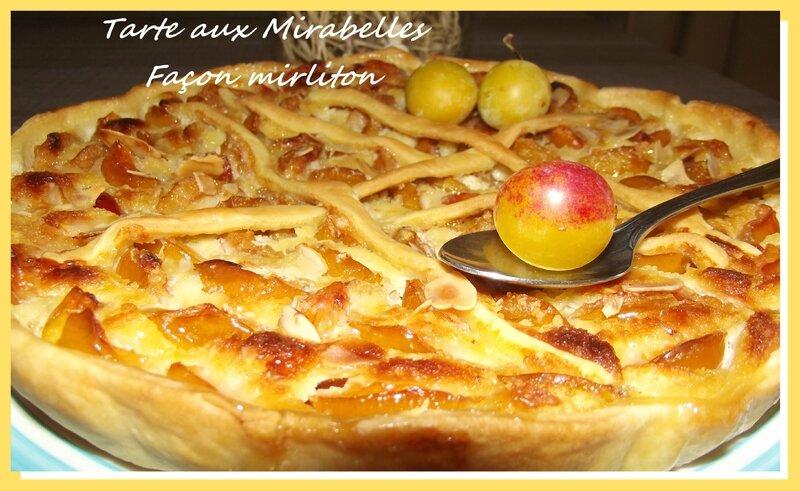 tarte mirabelle