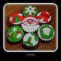 Cupcakes pomme/canelle de noël