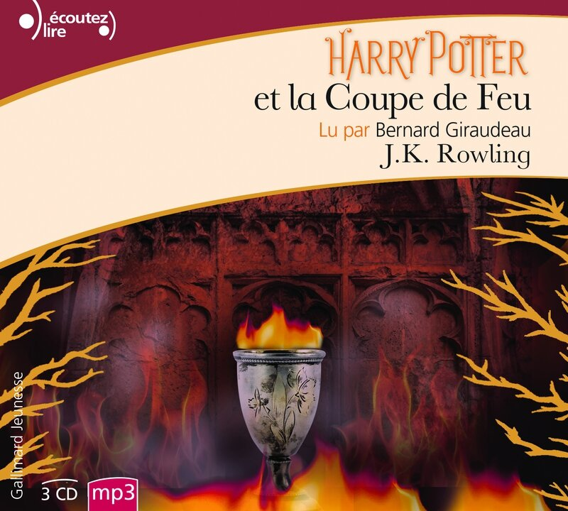 Harry Potter CD Coupe de feu