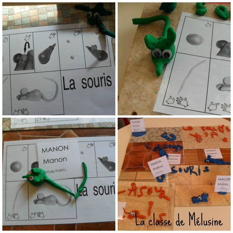 souris pàm Collage