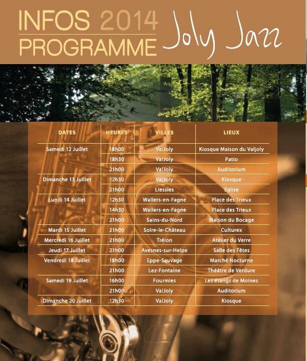 Festival Joly Jazz 2014