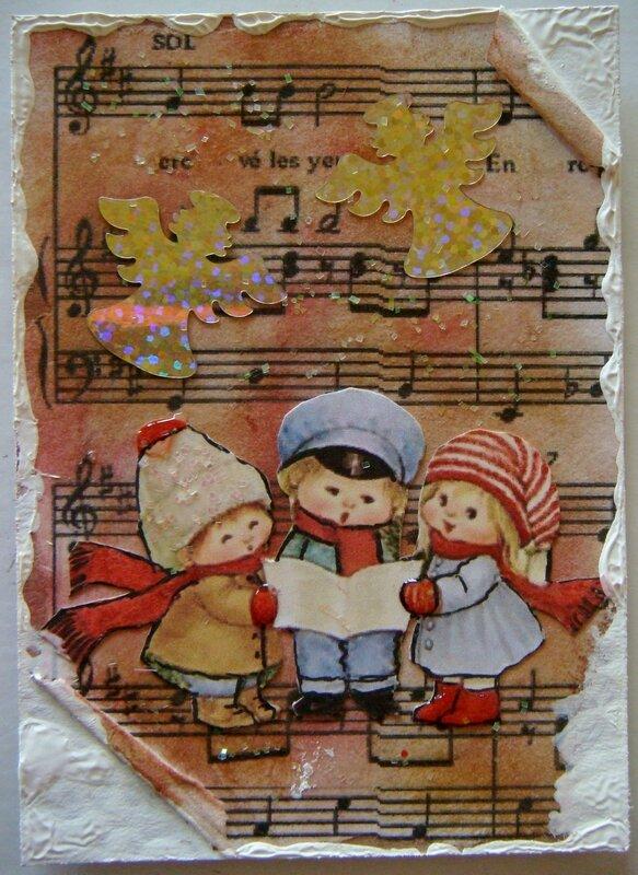 envoyée à Jeanne-Marie ROCH Petits chanteurs (Billy)