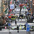 Attentat à stockholm: au moins un mort et 15 blessés, selon un nouveau bilan
