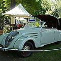 PEUGEOT 402 Eclipse coupé transformable 1937 Mulhouse (3)