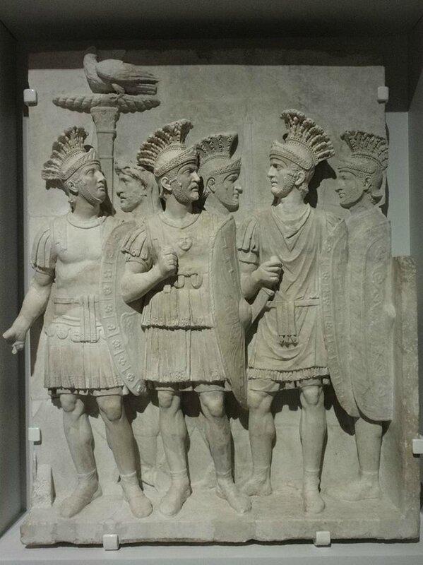 garde rapprochée de l'empereur (prétoriens)