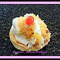 Tartelettes à la crème de citron, lemon curd
