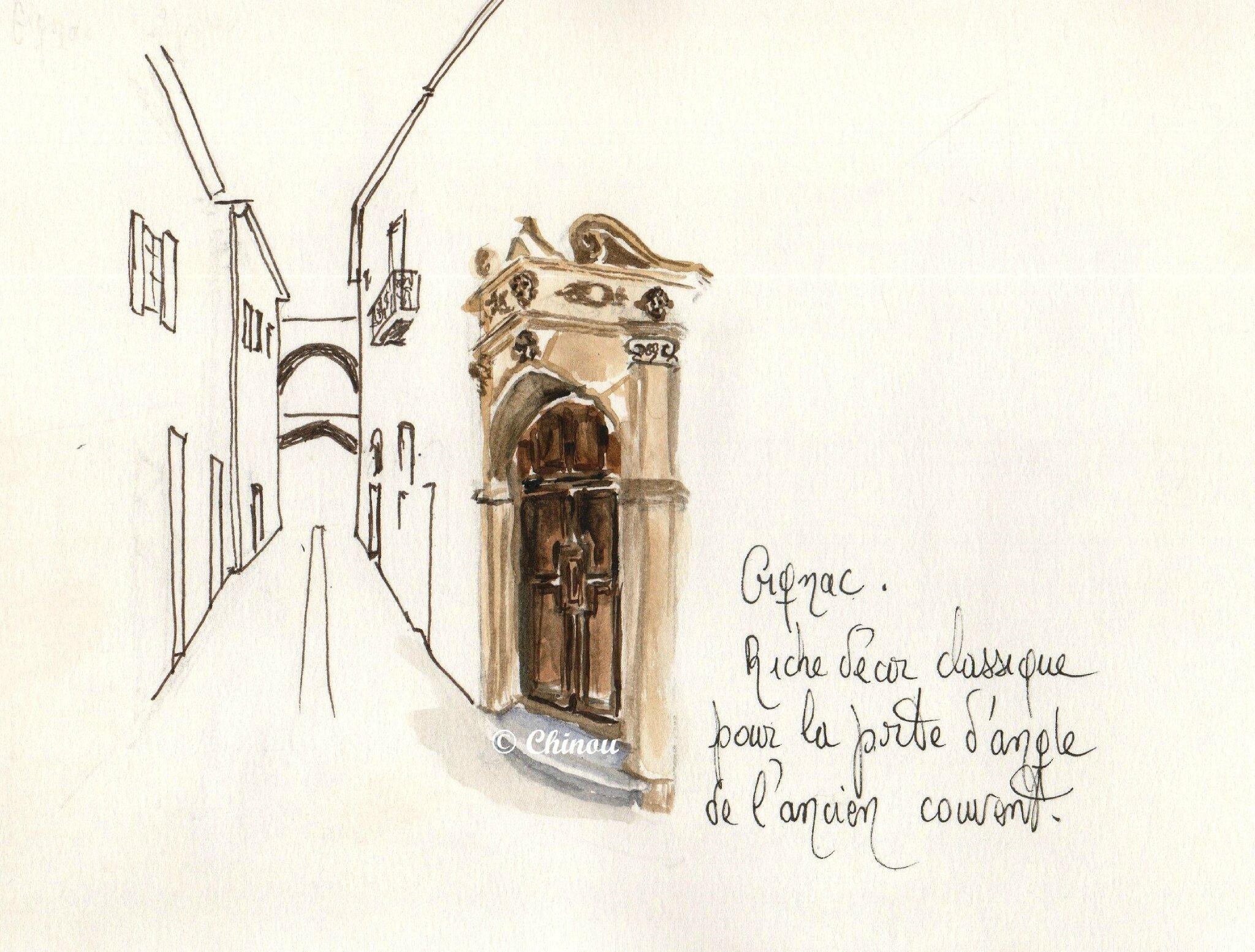 Gignac Porte du couvent