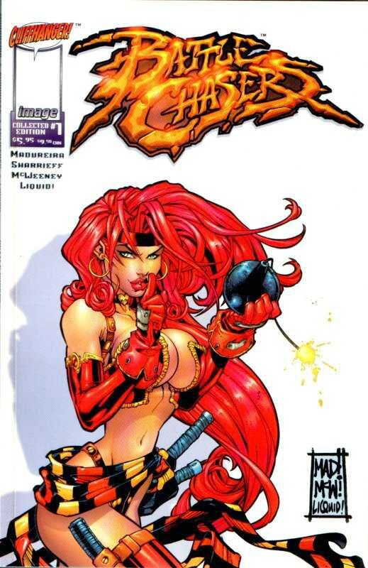 wildstorm battle chasers collected edition 1