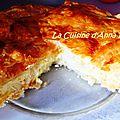 Galette des rois salée 4 fromages