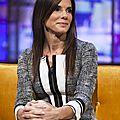 Sandra bullock wears andrew gn