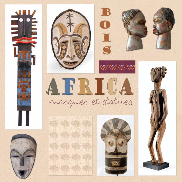 52 masques africains