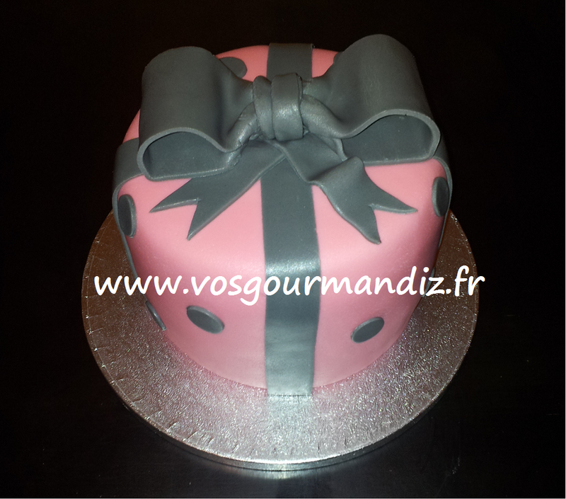 Gateau noeud papillon