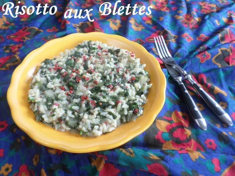 risotto-blettes