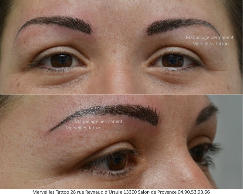 maquillage permanent sourcils technique poil poil r alis par vanessa merveilles tattoo. Black Bedroom Furniture Sets. Home Design Ideas