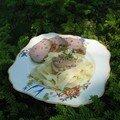 Filet mignon de porc aux amandes