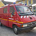 Renault master i camionnette d'interventions diverses pompiers la souffel