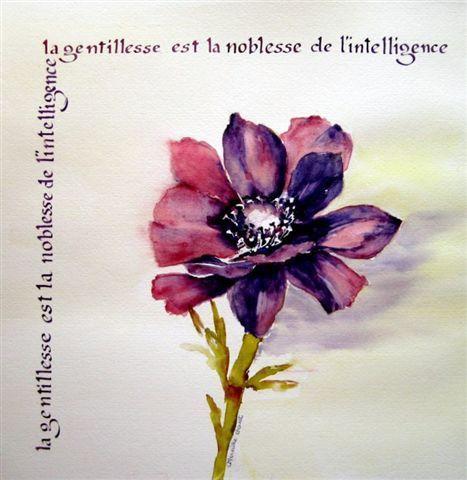 Mireille Calligraphie 01