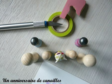 tampon home made coeur gomme a graver support en bois (5)