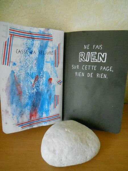 SACCAGE CE CARNET - 3 OU WRECK THIS JOURNAL