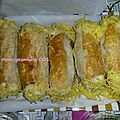 Les manchons au fromage