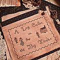 A log cabin in the Big Woods POUCH US$ 10.50