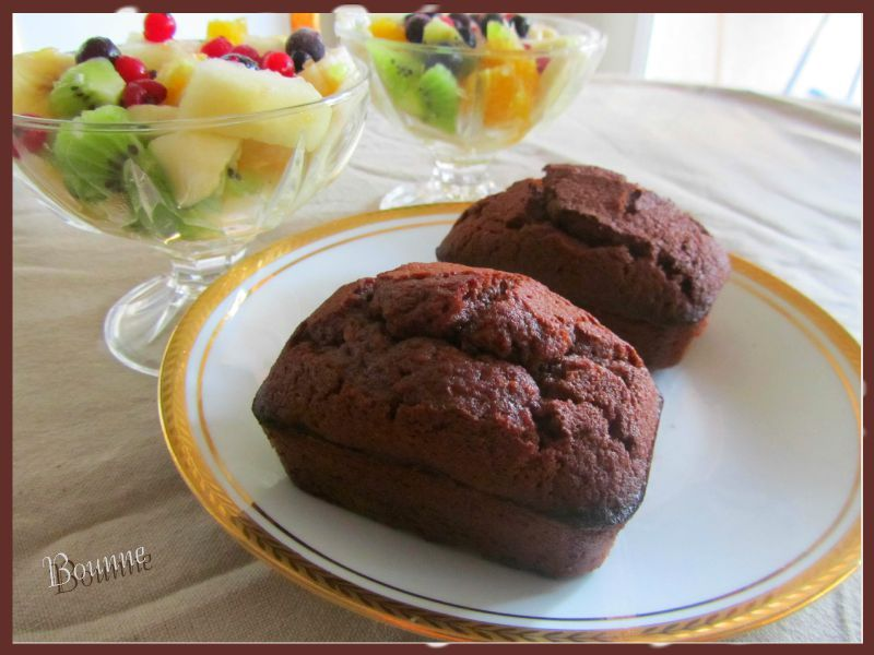 Financiers au chocolat (1)