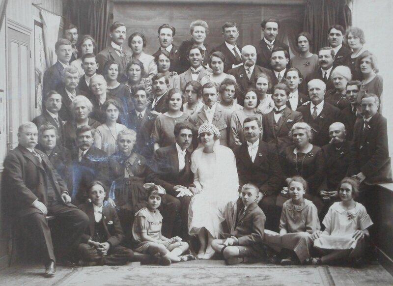 1925 le 7 mai mariage à St Leu d'Esserent